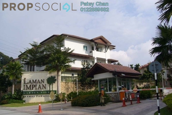 Townhouse For Sale in Laman Impian, Sunway Damansara Freehold Fully Furnished 3R/4B 1.35m