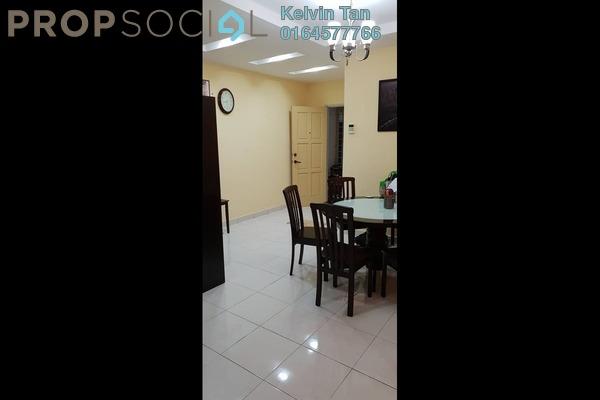 Condominium For Sale in Regency Heights, Sungai Ara Freehold Semi Furnished 3R/2B 580k