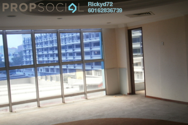 Office For Rent in Menara KLH, Sentul Freehold Semi Furnished 0R/1B 1.8k