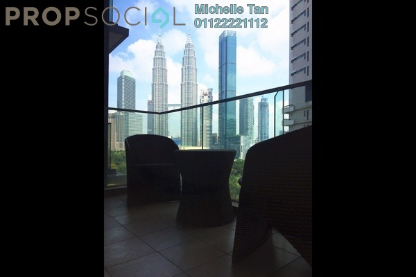 Condominium For Rent in Stonor Park, KLCC Freehold Fully Furnished 3R/4B 8k