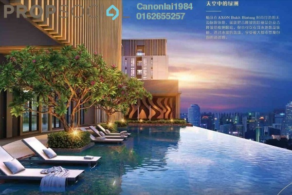 Condominium For Sale in Axon, Bukit Bintang Freehold Fully Furnished 2R/2B 650k