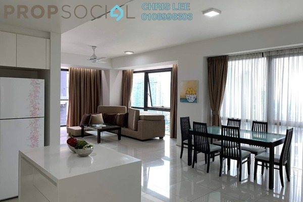 Condominium For Rent in Hampshire Place, KLCC Freehold Fully Furnished 2R/2B 4.8k
