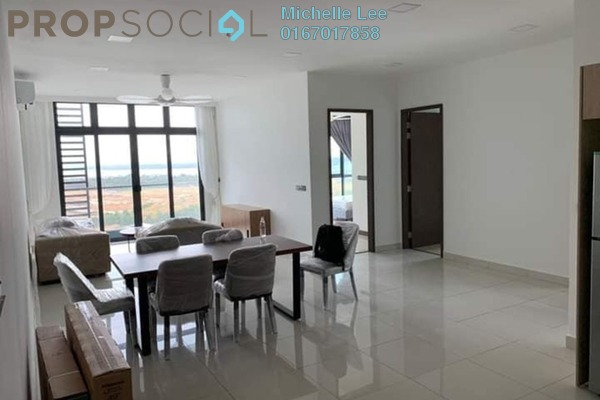 Condominium For Rent in Green Haven, Johor Bahru Freehold Fully Furnished 3R/2B 2k