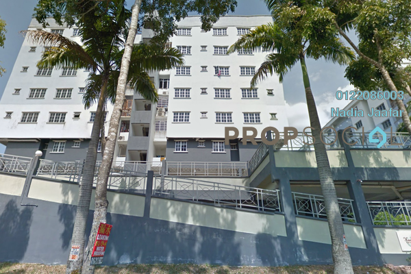 Condominium For Rent in Kemensah Villa, Kemensah Freehold semi_furnished 3R/2B 1.3k