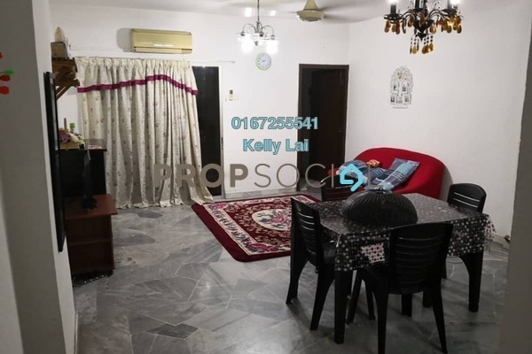 Condominium For Sale in Pelangi Indah, Jalan Ipoh Freehold Semi Furnished 3R/2B 295k