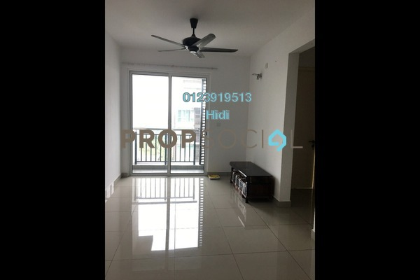 Serviced Residence For Rent in De Centrum Residences, Kajang Freehold Semi Furnished 2R/1B 1.3k