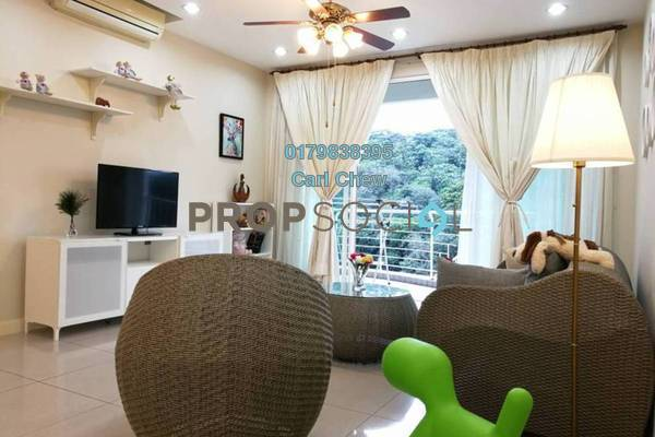 For Rent Condominium at Kiaramas Ayuria, Mont Kiara Freehold Fully Furnished 3R/4B 4.2k