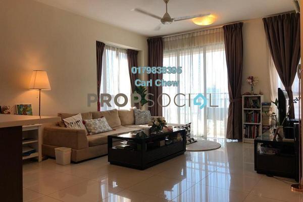 For Rent Condominium at Casa Kiara II, Mont Kiara Freehold Fully Furnished 3R/3B 4.1k