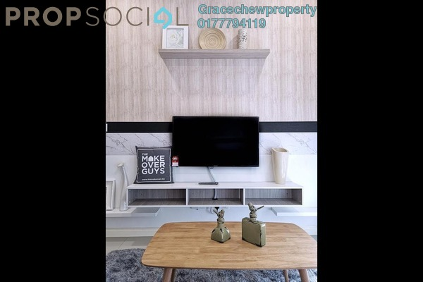 Condominium For Rent in D'Pristine, Medini Freehold Fully Furnished 2R/2B 1.6k