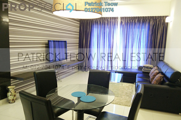 For Rent Condominium at Sinaran TTDI, TTDI Freehold Fully Furnished 2R/2B 3.2k