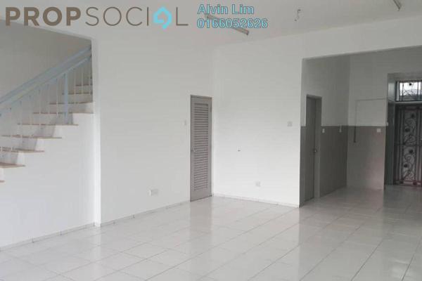 Terrace For Rent in Ellis, Bandar Bukit Raja Freehold Unfurnished 4R/3B 1.3k