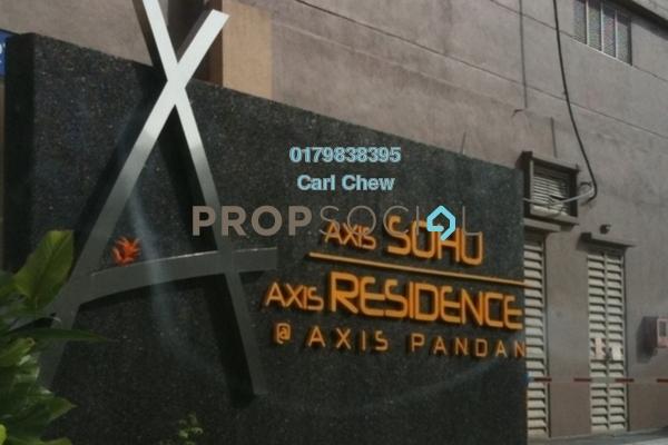Condominium For Sale in Axis SoHu, Pandan Indah Freehold Semi Furnished 1R/1B 330k