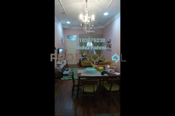Terrace For Sale in Taman Seri Budiman, Bandar Mahkota Cheras Freehold Semi Furnished 3R/2B 445k