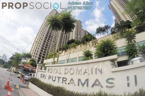 SoHo/Studio For Sale in Sri Putramas II, Dutamas Freehold Unfurnished 3R/2B 560k