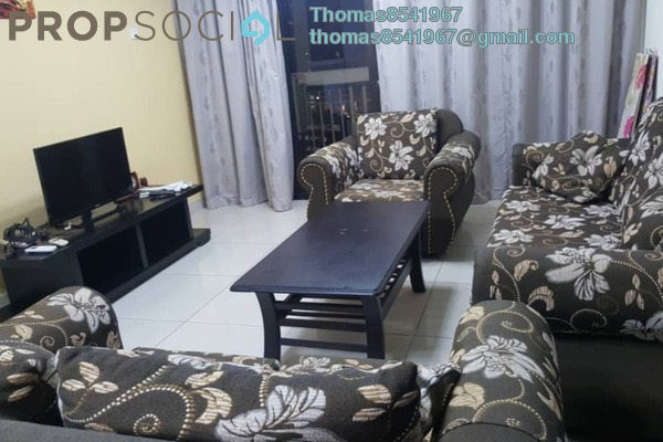 Condominium For Rent in Pelangi Damansara Sentral, Mutiara Damansara Freehold Fully Furnished 3R/2B 2k