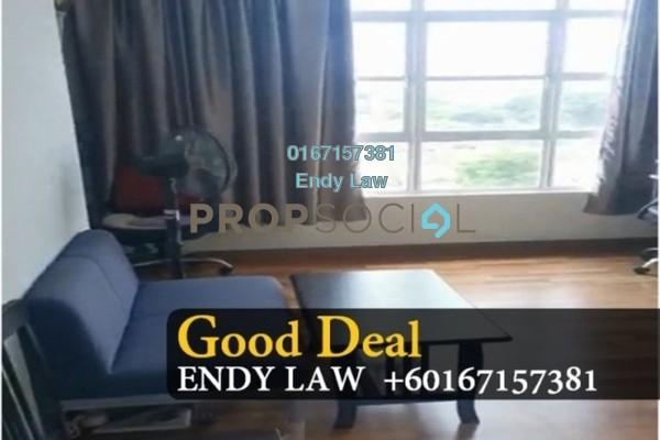 Serviced Residence For Sale in Taman Perling, Iskandar Puteri (Nusajaya) Freehold Semi Furnished 3R/2B 390k