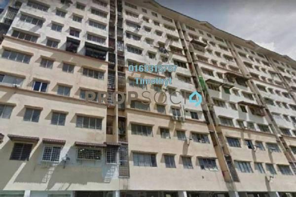 Apartment For Sale in Teratai Apartment, Bandar Mahkota Cheras Leasehold Semi Furnished 3R/2B 175k