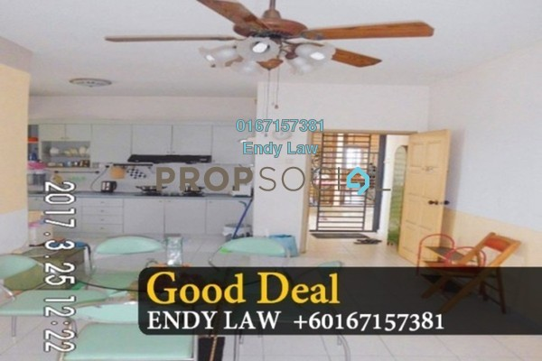 Serviced Residence For Sale in Nusa Perdana Serviced Apartment, Iskandar Puteri (Nusajaya) Freehold Semi Furnished 3R/2B 350k