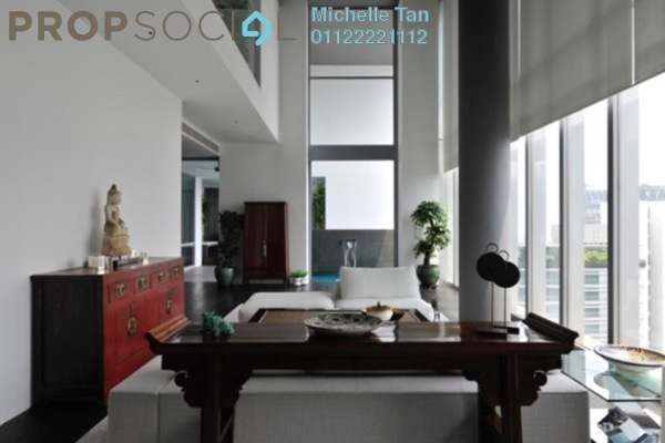For Rent Duplex at One KL, KLCC Freehold Fully Furnished 3R/4B 16k