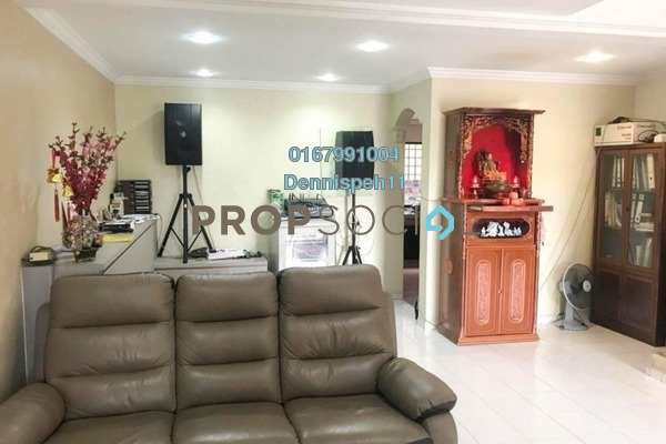 Terrace For Sale in Taman Bukit Tiram, Ulu Tiram Freehold Semi Furnished 3R/2B 345k