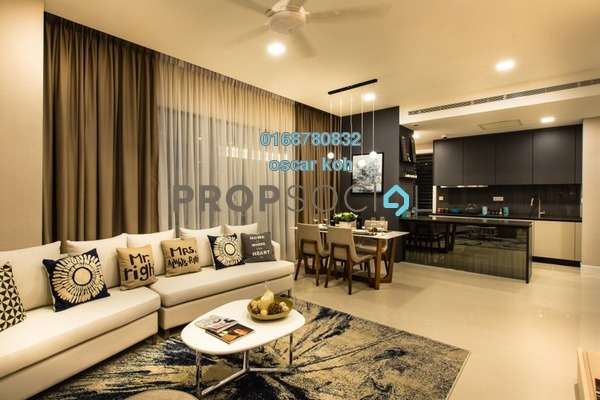 Condominium For Sale in Alam Puri, Jalan Ipoh Freehold Semi Furnished 3R/2B 387k