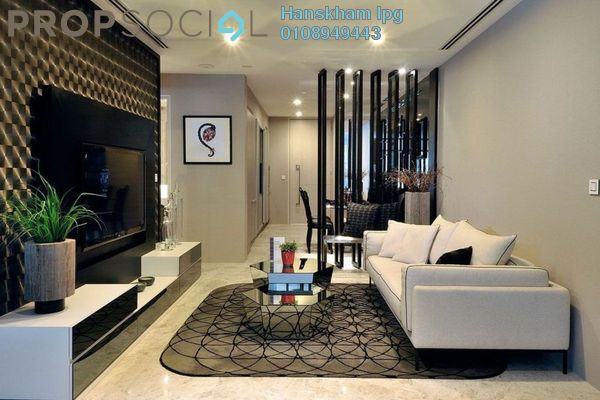 Condominium For Sale in Residensi Platinum Teratai, Kuala Lumpur Freehold Semi Furnished 3R/2B 380k