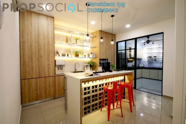 Condominium For Sale in Kaleidoscope, Setiawangsa Freehold Semi Furnished 3R/2B 599k