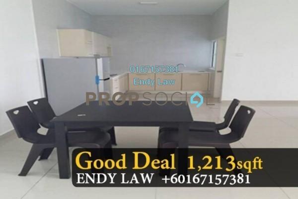 Serviced Residence For Sale in Horizon Residence, Bukit Indah Freehold Semi Furnished 3R/3B 420k