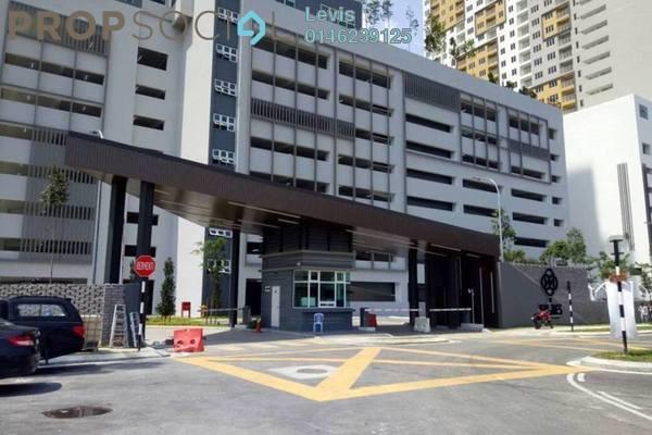 Condominium For Rent in The Holmes 2, Bandar Tun Razak Freehold Semi Furnished 3R/2B 1.8k