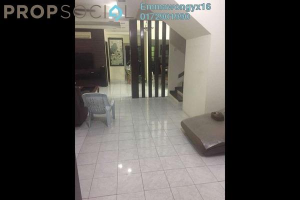 Terrace For Sale in SD12, Bandar Sri Damansara Freehold Semi Furnished 4R/3B 980k