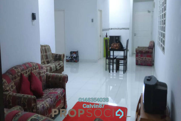 Condominium For Rent in Kristal View, Shah Alam Freehold Semi Furnished 4R/2B 1.6k