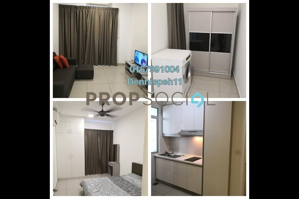 Serviced Residence For Sale in Austin Suites, Tebrau Freehold Semi Furnished 1R/1B 305k