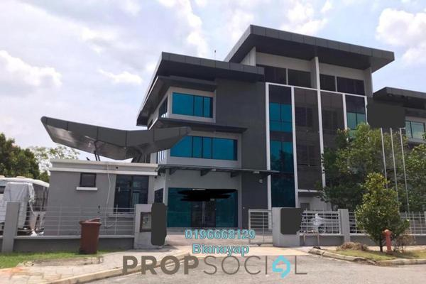 Factory For Sale in Metropolitan Business Park, Bukit Jelutong Freehold Semi Furnished 0R/0B 7.5m