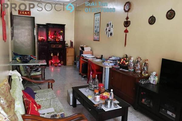 Terrace For Sale in SD4, Bandar Sri Damansara Freehold Semi Furnished 3R/2B 675k