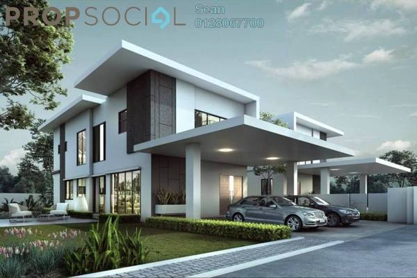 Semi-Detached For Sale in Elymus, Bandar Sri Sendayan Freehold Unfurnished 4R/6B 1.39m