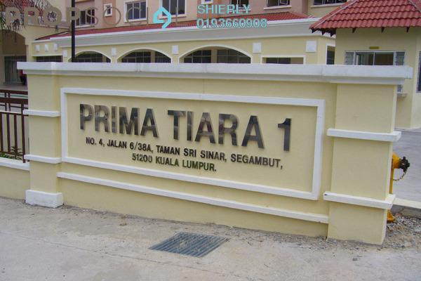 Apartment For Rent in Prima Tiara 1, Segambut Freehold Semi Furnished 3R/2B 1.3k