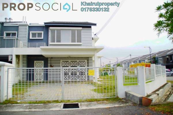 Terrace For Rent in Seri Bangi, Bandar Baru Bangi Freehold Semi Furnished 5R/3B 2.4k