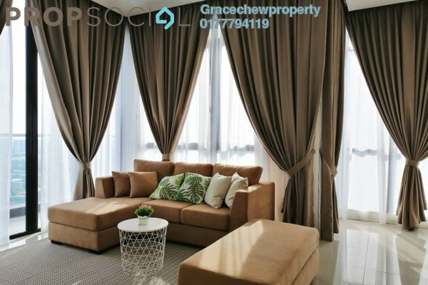 For Rent Serviced Residence at D'Pristine, Medini Freehold Fully Furnished 3R/2B 3k