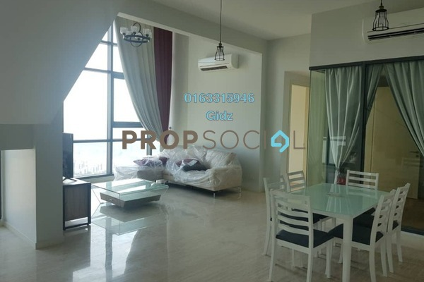 Serviced Residence For Rent in Vogue Suites One @ KL Eco City, Mid Valley City Freehold Fully Furnished 2R/2B 9k