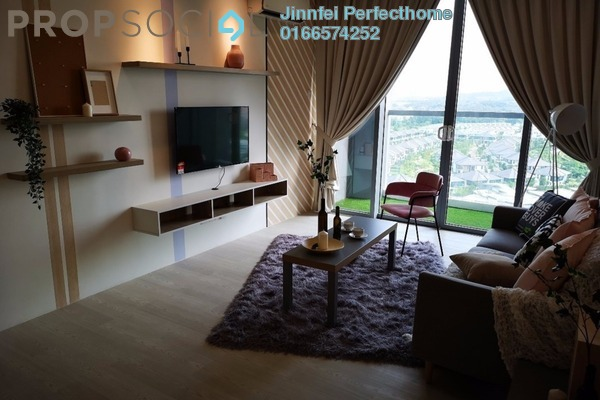 Condominium For Rent in LakeFront Residence, Cyberjaya Freehold Fully Furnished 3R/2B 2.5k
