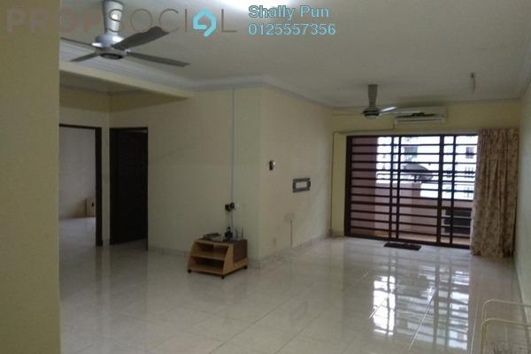 Apartment For Rent in Villamas Apartment, Bandar Puchong Jaya Freehold Semi Furnished 3R/2B 1.1k