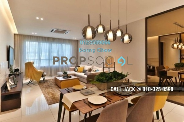 For Rent Condominium at The Lead Residences, Klang Freehold Semi Furnished 3R/3B 2.7k