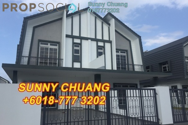 Semi-Detached For Sale in Eco Spring, Tebrau Freehold Unfurnished 5R/4B 1.09m