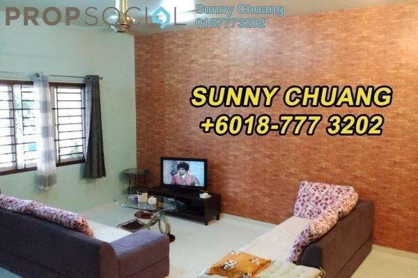 Terrace For Sale in Setia Indah, Tebrau Freehold Fully Furnished 4R/3B 500k