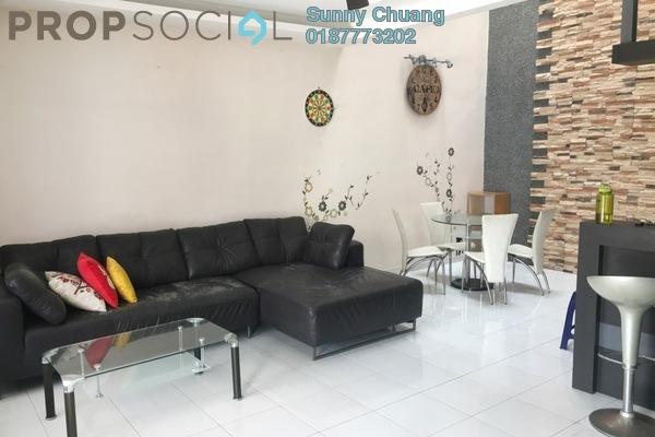 Terrace For Sale in Setia Indah, Tebrau Freehold Semi Furnished 3R/3B 563k