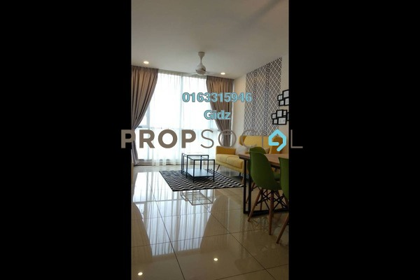 Serviced Residence For Sale in South View, Bangsar South Freehold Fully Furnished 2R/2B 950k