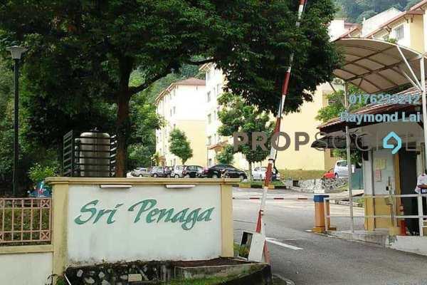 Apartment For Sale in Sri Penaga Apartment, Pusat Bandar Puchong Freehold Semi Furnished 3R/2B 308k