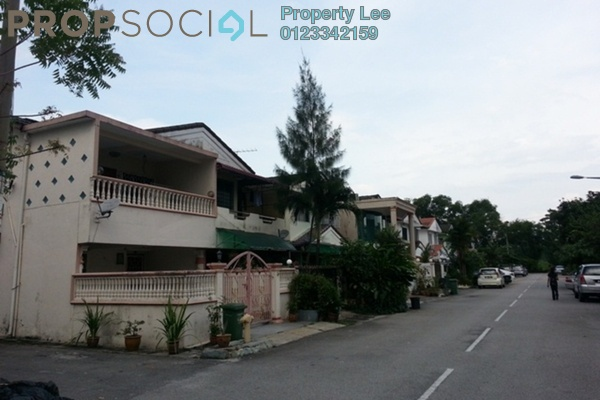 Terrace For Rent in Taman Mastiara, Jalan Ipoh Freehold Unfurnished 4R/3B 1.5k