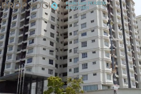 For Rent Condominium at Suri Puteri, Shah Alam Freehold Fully Furnished 3R/2B 1.85k