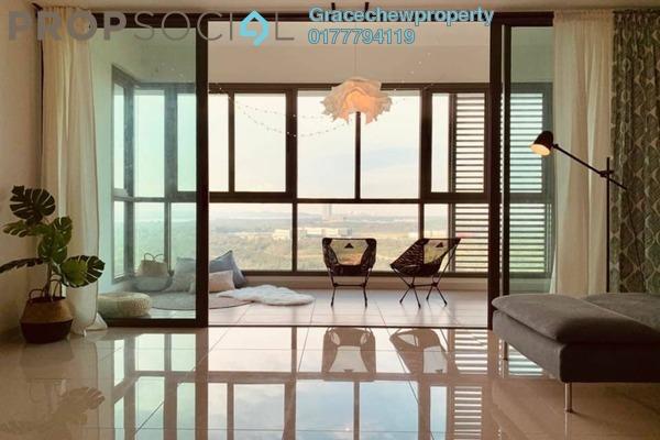 Serviced Residence For Rent in Iskandar Residences, Medini Freehold Fully Furnished 3R/2B 3k